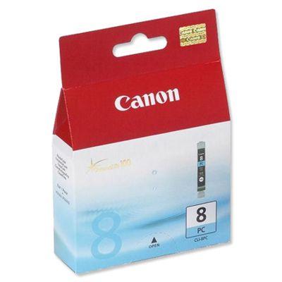 Tusz oryginalny CLI-8 PC do Canon (0624B001) (Błękitny Foto)