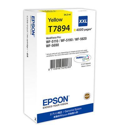 Tusz oryginalny T7894 do Epson (C13T789440) (Żółty)