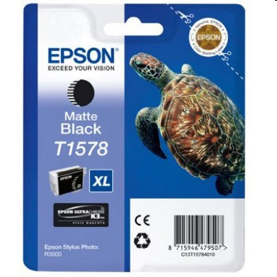 Tusz oryginalny T1578 do Epson (C13T15784010 ) (Czarny matowy)