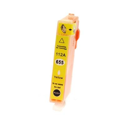 Tusz zamiennik 655 do HP (CZ112AE) (Żółty)