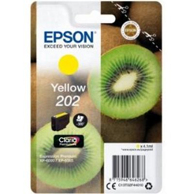 Tusz oryginalny 202 do Epson (C13T02F44010) (Żółty)