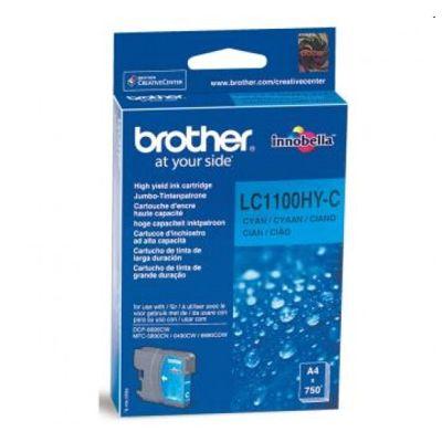 Tusz oryginalny LC-1100HY C do Brother (LC1100HYC) (Błękitny)