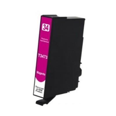 Tusz zamiennik 34xl do Epson (T3473) (Purpurowy)