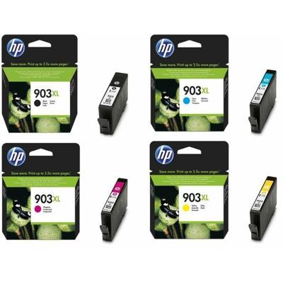 Tusze oryginalne 903 XL CMYK do HP (3HZ51AE) (komplet)