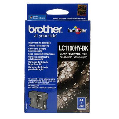 Tusz oryginalny LC-1100HY BK do Brother (LC1100HYBK) (Czarny)