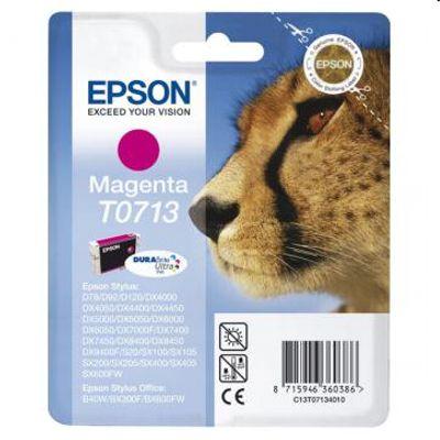 Tusz oryginalny T0713 do Epson (C13T07134010) (Purpurowy)