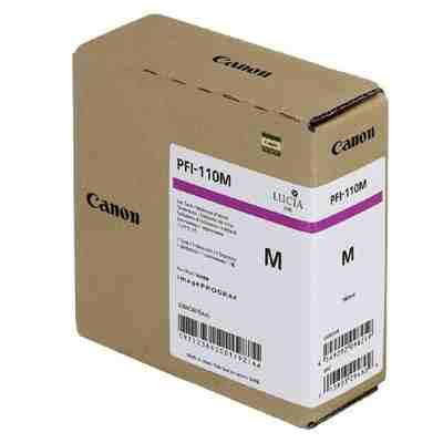 Tusz oryginalny PFI-110M do Canon (2366C001) (Purpurowy)