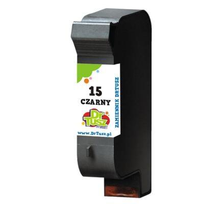 Tusz zamiennik 15 do HP (C6615D) (Czarny)