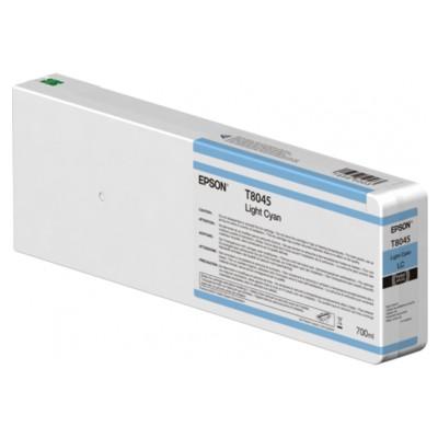 Tusz oryginalny T8045 do Epson (C13T804500) (Jasny błękitny)