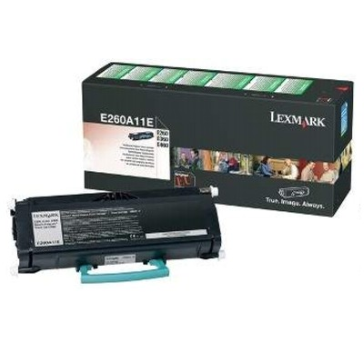 Toner oryginalny E260A11E do Lexmark (E260A11E) (Czarny)