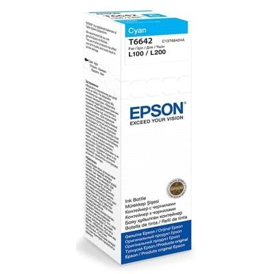 Tusz oryginalny T6642 do Epson (C13T66424) (Błękitny)
