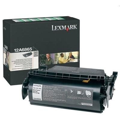 Toner oryginalny 12A6865 do Lexmark (12A6865) (Czarny)