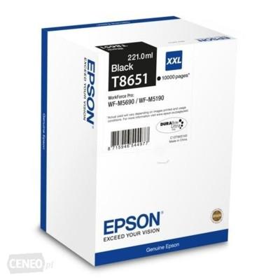Tusz oryginalny T8651 do Epson (C13T865140) (Czarny)