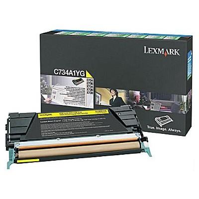 Toner oryginalny X746A1YG do Lexmark (X746A1YG) (Żółty)