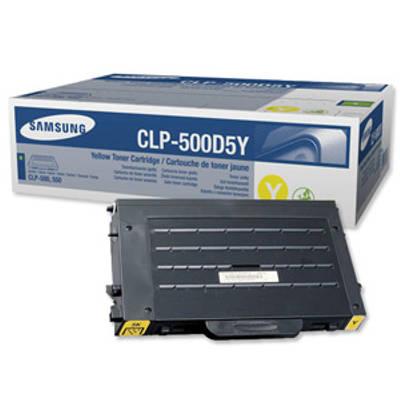 Toner oryginalny CLP-500D5Y do Samsung (CLP-500D5Y) (Żółty)