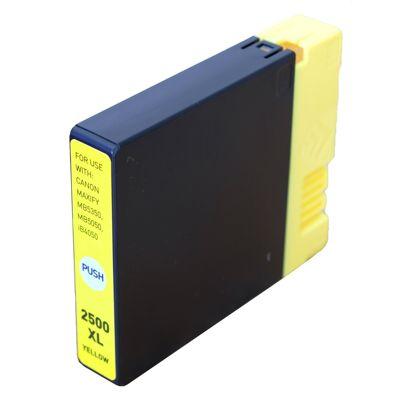 Tusz zamiennik PGI-2500 Y do Canon (9267B001) (Żółty)