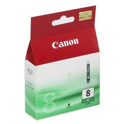 Tusz oryginalny CLI-8 G do Canon (0627B001) (Zielony)