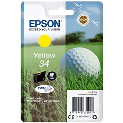 Tusz oryginalny 34 do Epson (C13T34644010) (Żółty)