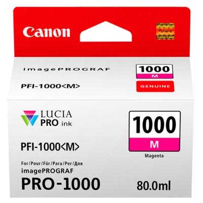 Tusz oryginalny PFI-1000M do Canon (0548C001) (Purpurowy)