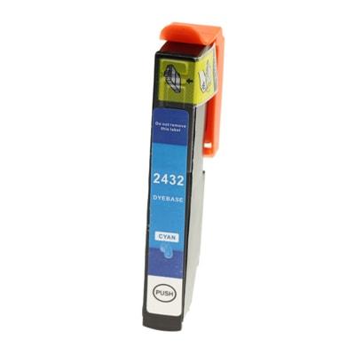 Tusz zamiennik T2432 do Epson (C13T24324010) (Błękitny)