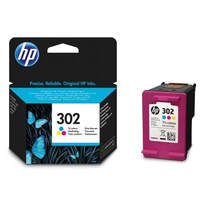 Tusz oryginalny 302 do HP (F6U65AE) (Kolorowy)
