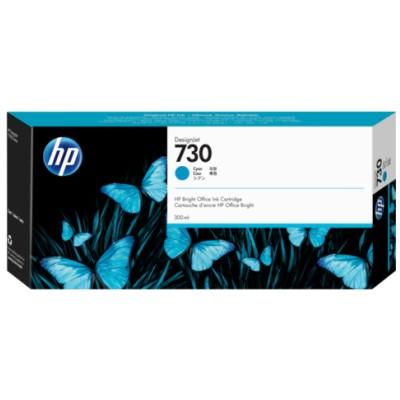 Tusz oryginalny 730 do HP (P2V68A) (Błękitny)