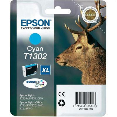 Tusz oryginalny T1302 do Epson (C13T13024010) (Błękitny)