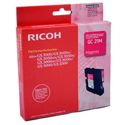 Tusz oryginalny GC-21M do Ricoh (405534) (Purpurowy)