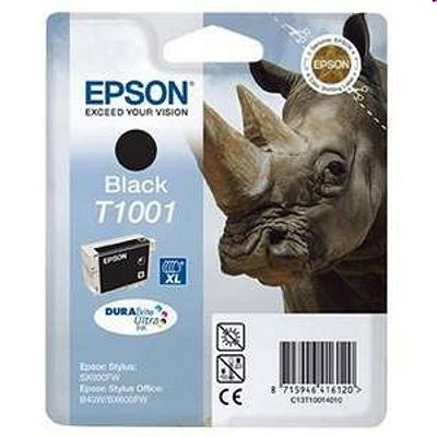Tusz oryginalny T1001 do Epson (C13T10014010) (Czarny)