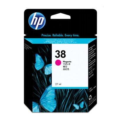 Tusz oryginalny 38 do HP (C9416A) (Purpurowy)