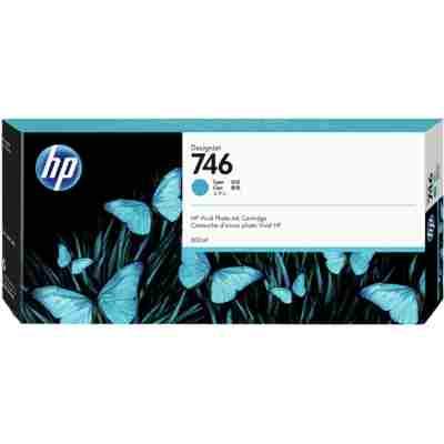 Tusz oryginalny 746 do HP (P2V80A) (Błękitny)