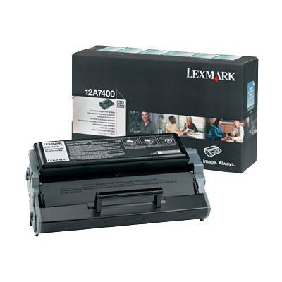 Toner oryginalny 12A7400 do Lexmark (12A7400) (Czarny)