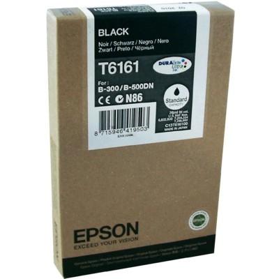 Tusz oryginalny T6161 do Epson (C13T616100) (Czarny)
