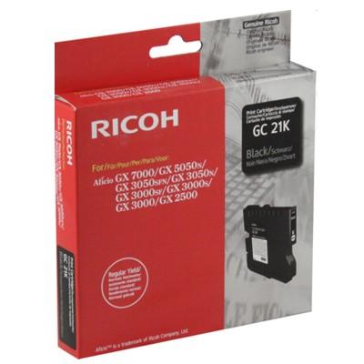 Tusz oryginalny GC-21K do Ricoh (405532) (Czarny)
