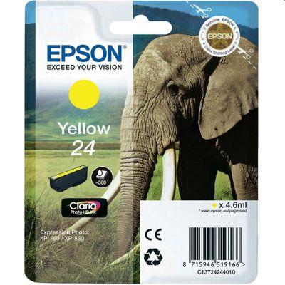Tusz oryginalny T2424 do Epson (C13T24244010) (Żółty)