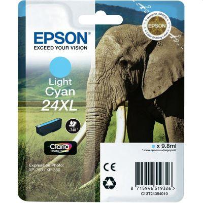 Tusz oryginalny T2435 do Epson (C13T24354010) (Jasny błękitny)