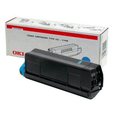 Toner oryginalny C5100 do Oki (42127407) (Błękitny)