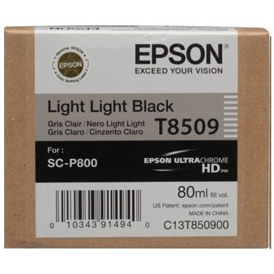 Tusz oryginalny T8509 do Epson (C13T850900) (Jasny jasny czarny)