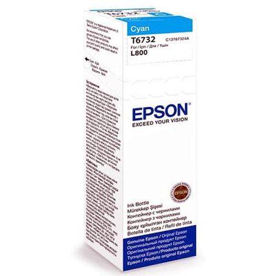 Tusz oryginalny T6732 do Epson (C13T67324A) (Błękitny)