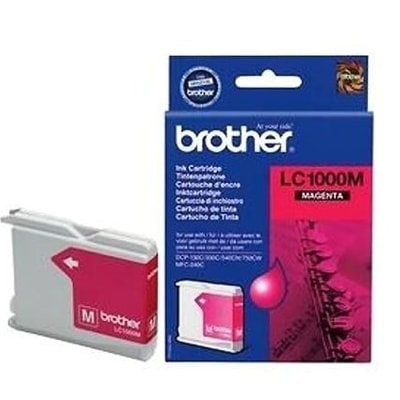 Tusz oryginalny LC-1000 M do Brother (LC1000M) (Purpurowy)