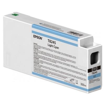 Tusz oryginalny T8245 do Epson (C13T824500) (Jasny błękitny)