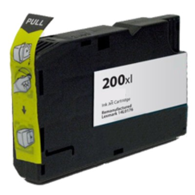 Tusz zamiennik 200XL do Lexmark (14L0199) (Purpurowy)
