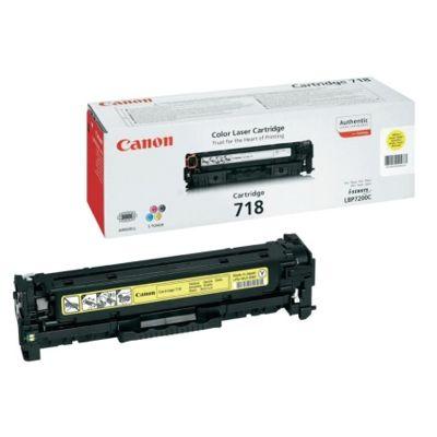 Toner oryginalny CRG-718 Y do Canon (2659B002AA, 2659B011AA) (Żółty)