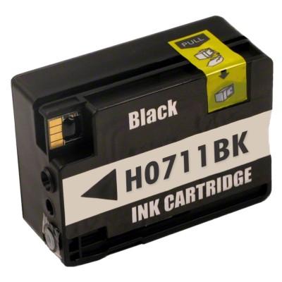 Tusz zamiennik 711 XL do HP (CZ133A) (Czarny)
