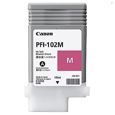 Tusz oryginalny PFI-102M do Canon (CF0897B001A) (Purpurowy)