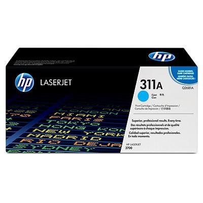 Toner oryginalny 311A do HP (Q2681A) (Błękitny)