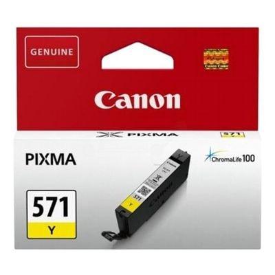 Tusz oryginalny CLI-571 Y do Canon (0388C001) (Żółty)