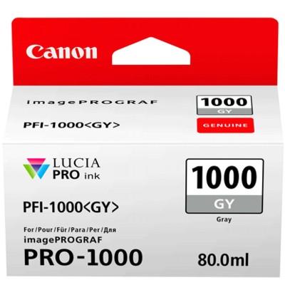 Tusz oryginalny PFI-1000GY do Canon (0552C001) (Grey)