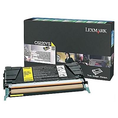 Toner oryginalny C5220YS do Lexmark (C5220YS) (Żółty)