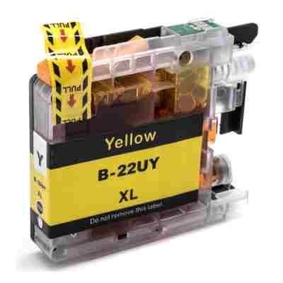 Tusz zamiennik LC-22UY do Brother (LC-22UY) (Żółty)